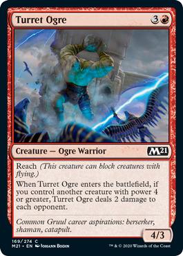 Turret Ogre - Foil