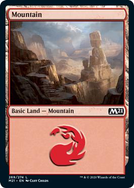 Mountain (269) - Foil