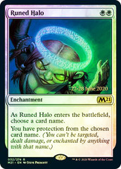 Runed Halo - Foil - Prerelease Promo