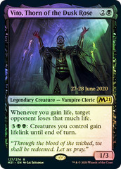 Vito, Thorn of the Dusk Rose - Foil - Prerelease Promo