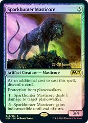 Sparkhunter Masticore - Foil - Prerelease Promo