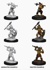Nolzur's Marvelous Miniatures - Male Goblins & Goblin Boss