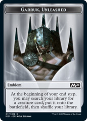 Emblem - Garruk, Unleashed (017/018)