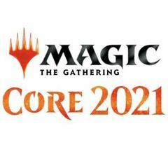 Magic Spindown Die - Core Set 2021 - Black