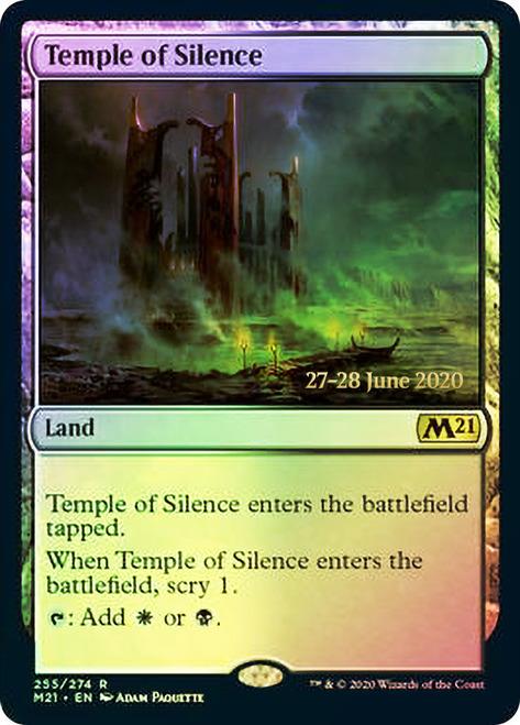 Temple of Silence - Foil - Core Set 2021 Prerelease Promo