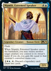 Niambi, Esteemed Speaker - Promo Pack