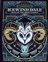 D&D Adventure: Icewind Dale - Rime of the Frostmaiden Alternate Cover