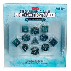 Dungeons & Dragons Icewind Dale: Rime of the Frostmaiden Dice and Miscellany
