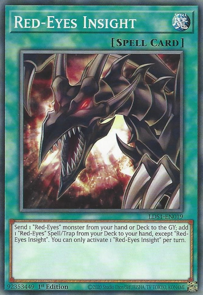 Red-Eyes Insight - LDS1-EN019 - Common - 1st Edition