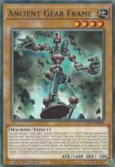 Ancient Gear Frame - LDS1-EN086 - Common - 1st Edition
