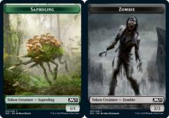 Saproling Token // Zombie Token - Foil