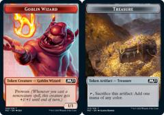 Goblin Wizard Token // Treasure Token - Foil