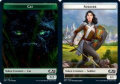 Cat Token (011) // Soldier Token - Foil