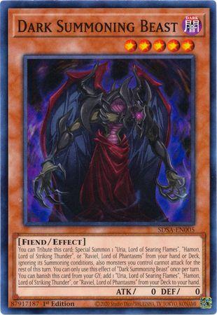 Dark Summoning Beast - SDSA-EN005 - Common - 1st Edition