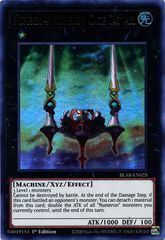 Number 4: Numeron Gate Catvari - BLAR-EN025 - Ultra Rare - 1st Edition