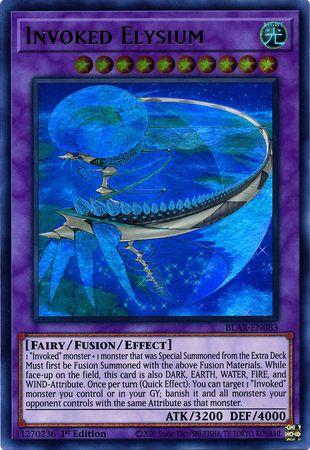 Invoked Elysium - BLAR-EN083 - Ultra Rare - 1st Edition