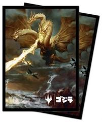 Ultra Pro - Standard Deck Protector Sleeves for Magic: The Gathering - Ghidorah, King of the Cosmos 100Ct