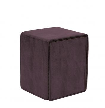 Ultra Pro - Alcove Flip Box - Suede Collection: Amethyst