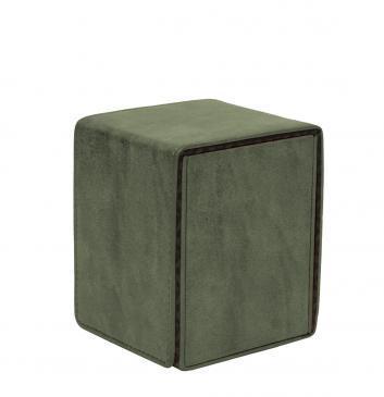 Ultra Pro - Alcove Flip Box - Suede Collection: Emerald
