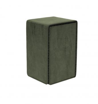 Ultra Pro - Alcove Tower Flip Box - Suede Collection: Emerald