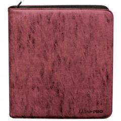 Ultra Pro - Deck Builder's Playset PRO-Binder - Suede Collection: Ruby