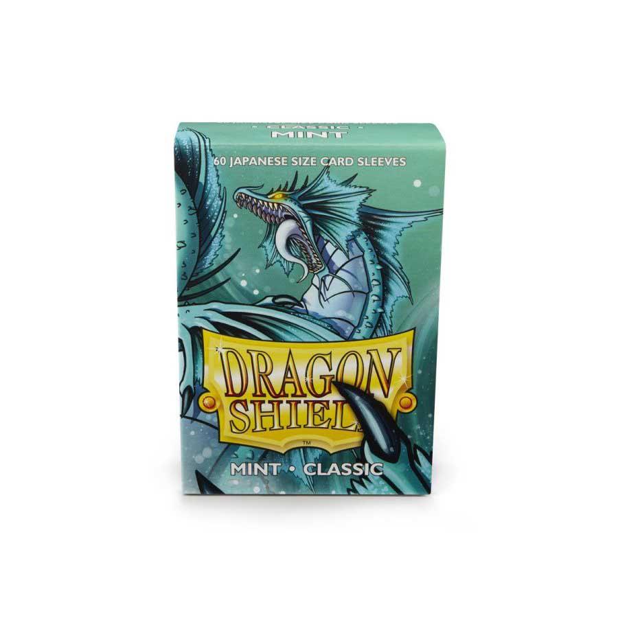 Dragon Shield Sleeves: Japanese Classic Mint  (Box of 60)