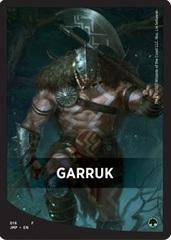Garruk Theme Card