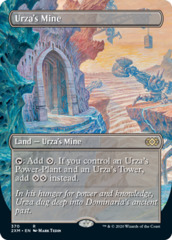 Urza's Mine - Foil - Borderless