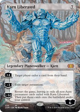 Karn Liberated - Foil - Borderless