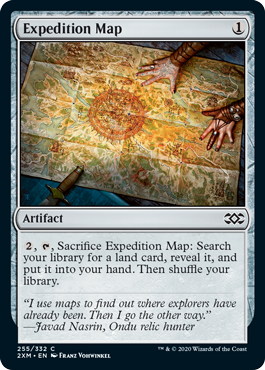 Expedition Map - Foil