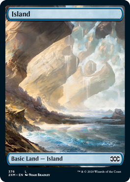 Island (376) - Foil