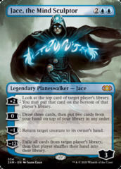 Jace, the Mind Sculptor (Borderless) - Foil