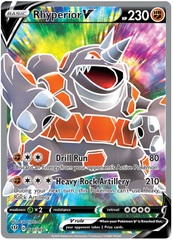 Rhyperior V - 181/189 - Full Art Ultra Rare
