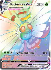 Butterfree VMAX - 190/189 - Secret Rare