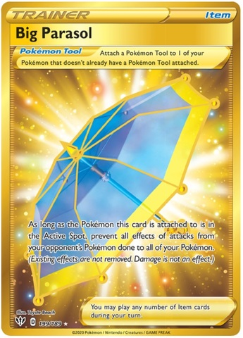 Big Parasol - 199/189 - Secret Rare