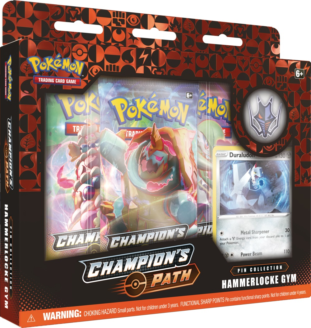 Champions Path - Hammerlocke Gym Pin Collection