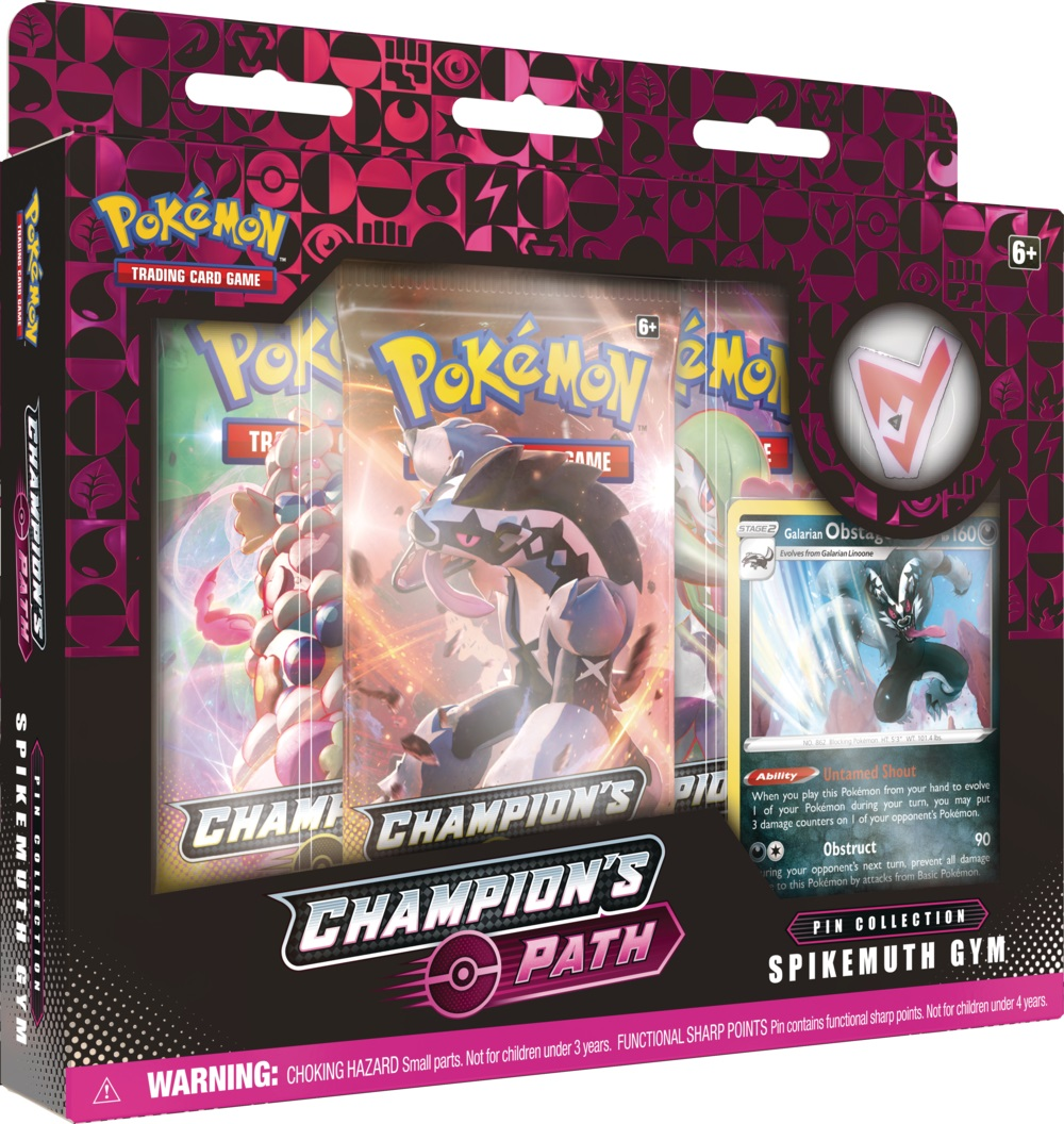 Champions Path - Spikemuth Gym Pin Collection