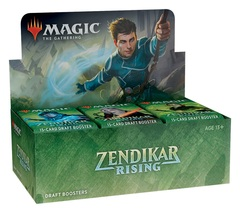 Zendikar Rising Draft Booster Box + Promo!