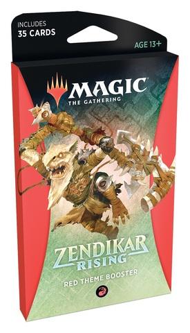 Zendikar Rising Theme Booster - Red