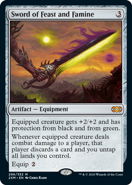 Sword of Feast and Famine - Foil