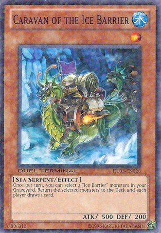 Caravan of the Ice Barrier - DT03-EN028 - Parallel Rare - Duel Terminal