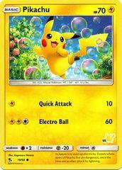 Pikachu - 55 - Common - Battle Academy: Pikachu Deck