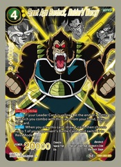 Great Ape Bardock, Raider's Warcry - DB1-061 - SR - Special Anniversary Box 2020 Alternate-Art Reprint - Foil