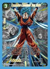 Comrades Combined Son Goku - EX01-01 - EX - Special Anniversary Box 2020 Alternate-Art Reprint - Foil