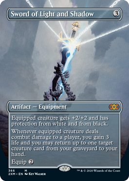 Sword of Light and Shadow - Borderless