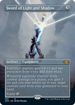 Sword of Light and Shadow - Foil - Borderless