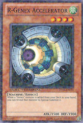 R-Genex Accelerator - DT03-EN073 - Duel Terminal Normal Parallel Rare - 1st Edition on Channel Fireball