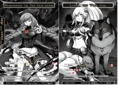 Lunya, the Wolf Girl // Nyarlathotep, the True False Legend - WPR2017-002 JR - PR