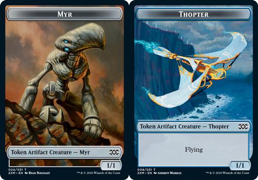Myr Token (024) // Thopter Token - Foil