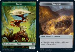 Plant Token // Treasure Token - Foil